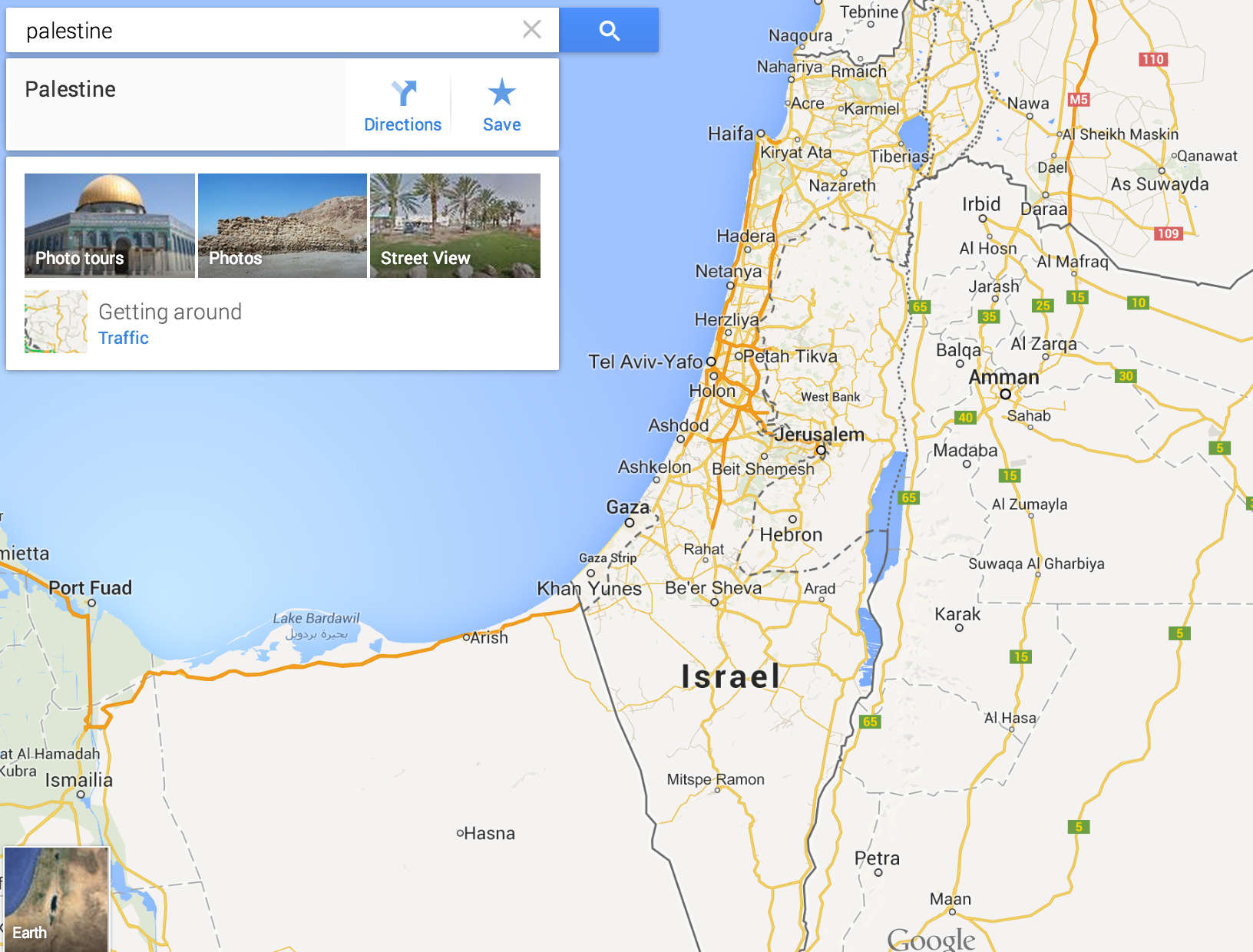 Palestine Does Not Receive Label on Google Maps on masada map google, guyana map google, hungary map google, nauru map google, swaziland map google, trinidad and tobago map google, venezuela map google, vatican city map google, anguilla map google, monaco map google, bermuda map google, belarus map google, arabian peninsula map google, congo map google, uzbekistan map google, corinth map google, byzantine empire map google, baghdad map google, cook islands map google, georgia map google,